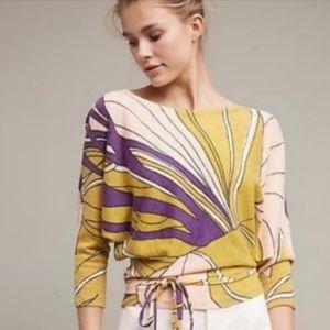 NWT Moth Tramma Wrap Sweater, Size Large